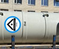 Вертикальный резервуар из полимеров 25 м3