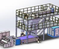 Линия производства однослойного спанбонда 3200 (S)